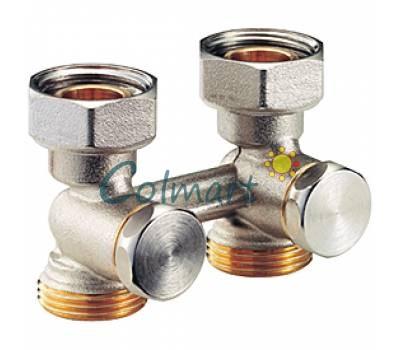"""Клапан проходной для двухтрубных систем (бинокль) Giacomini R387X001 3/4""""Fx18"""