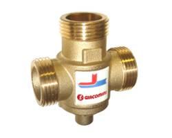 """Трехходовой клапан Giacomini R157AY052 1"""" 55°C DN25"""