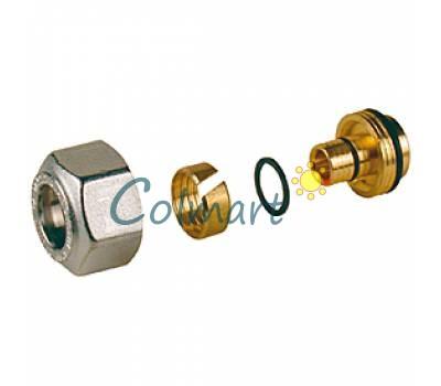Переходник для металлопластиковых и пластиковых труб евроконус Giacomini R179MX026 18x(20x2)