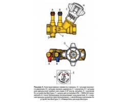 "Балансировочный клапан Giacomini R206BY003 1/2"""