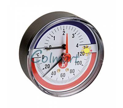 """Термоманометр Giacomini R226Y001 1/2"""" (0-120 °C) 4 бар"""