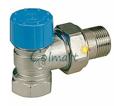 """Угловой термостатический клапан с резьб. подсоединением термоголовки Giacomini R401HX004 3/4"""""""
