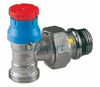 "Угловой термостатический клапан Giacomini R411X033 1/2""x16"