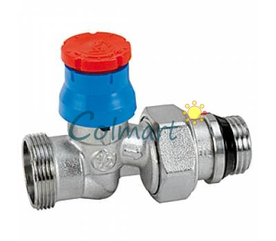 "Прямой термостатический клапан Giacomini R412X034 1/2""x18"
