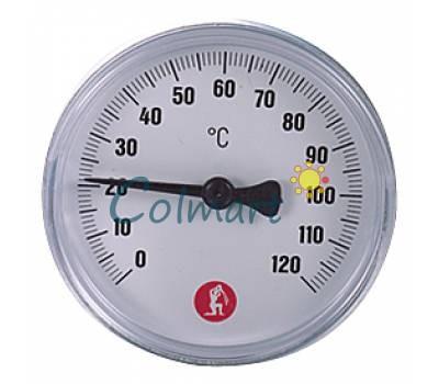 """Термометр Giacomini R540Y003 1/2"""" - 0÷120 °C - Ø61,5 mm"""