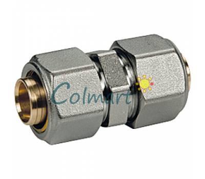 Прямой фитинг (для труб GIACOTHERM, GIACOFLEX, многослойных) Giacomini R560MY126 32x3