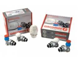 """Комплект термостатический (радиаторный) осевой Giacomini R470AX023 1/2""""x16 с нар. резьбой"""