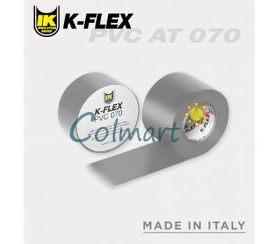 Лента самоклеящаяся K-FLEX PVC 038-025 AT 070 grey