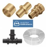 Трубы и фитинги системы KAN