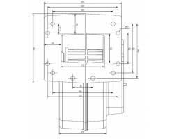 Комплект автоматики для твердотопливных котлов KG Elektronik блок управления CS-20 и вентилятор DP-02