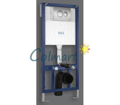 Инсталляция сантехническая с рамой NOVA plastik 4502