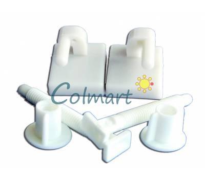 Крепление для туалетного сидения Shell NOVA plastik 7029