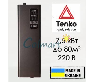 Электрический котел Tenko Digital 7,5 кВт 220 В