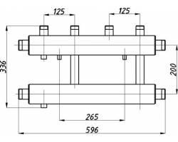 Коллектор Termojet К22В.125(200)