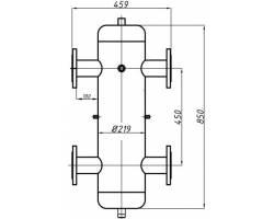 Гидрострелка Termojet ГС-30 Ду65