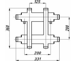 Коллектор Termojet К22ВН.125(200)