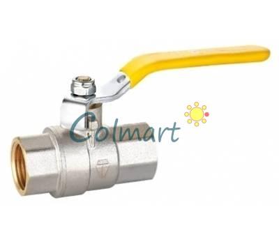 """Кран шаровой для газа HLV 104271 1/2"""" ВВ ручка"""