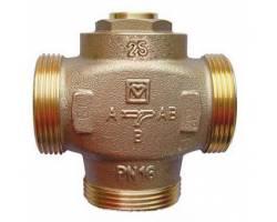 """Трехходовой термосмесительный клапан HERZ Teplomix (1776613) DN25 1*1/4"""" 55°C с отключаемым байпасом"""