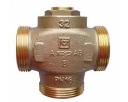 """Трехходовой термосмесительный клапан HERZ Teplomix (1776614) DN32 1*1/2"""" 55°C с отключаемым байпасом"""