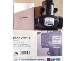 "Трехходовой клапан ESBE VTC512 (51022100) DN32 1*1/2"" 55°C НР"