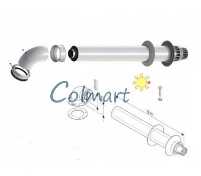 Стандартный коаксиальный дымоход для конденсационных котлов Bosch AZB 916