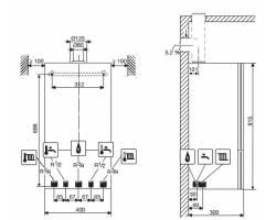 Газовый котел Bosch Condens 2500 W (WBC 28-1 DC)