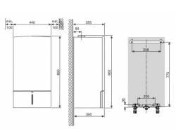 Газовый котел Bosch Condens 7000 W (ZBR 42-3 A)