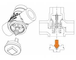 Термостатический патрон ESBE VTC951 50°C