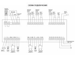 Euroster UNI 3, термоконтроллер погодозависимый