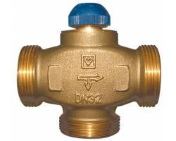 """Трехходовой термостатический клапан HERZ CALIS-TS-RD 1/2"""" распределение потоков до 100% (1776138)"""