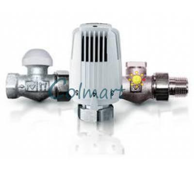"""Термостатический комплект HERZ Classic (TS-90) прямой 1/2"""" (1726006+1772391+1372341)"""