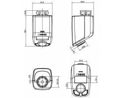 """Адаптор HERZ """"D"""" на радиаторы с клапанами """"Danfoss""""М 23.5 х 1.5 (1636211)"""