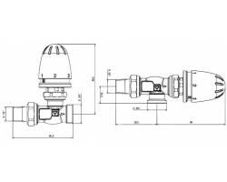Термоголовка HERZ-МINI M28×1,5 (1920100)