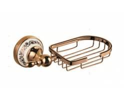 Настенная мыльница решетка HI-NON ВР0209 (золото)