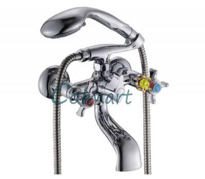 Смеситель для ванны двурукий HI-NON SBM