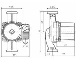 Насос циркуляционный Wilo Star-RS 25/6-130