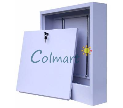 Шкаф коллекторный наружный 485х580х110мм