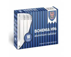 Алюминиевый радиатор BOHEMIA H96