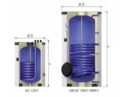 Бойлер косвенного нагрева Reflex AF 1000/1 С Aqua (белый)