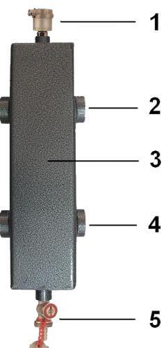 Гидрострелка Termojet СК-28 в изоляции