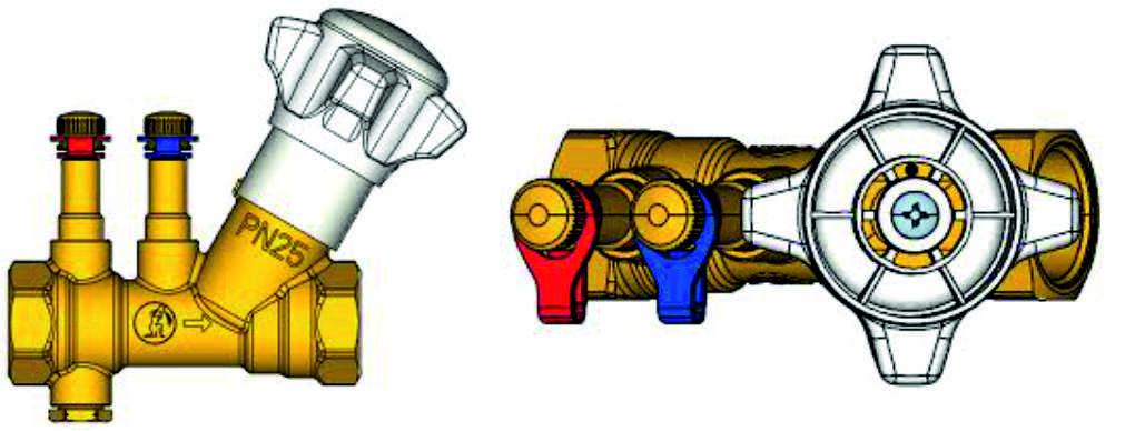 Ручной балансировочный клапан